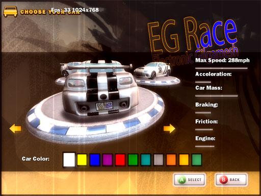 لعبة سباق سيارات عراقية الصنع نقطة تحول والخطوة الأولى نحو تصميم الألعاب ذات كفائة عالية 210