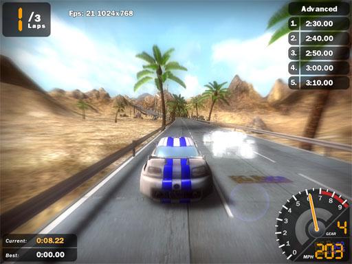 لعبة سباق سيارات عراقية الصنع نقطة تحول والخطوة الأولى نحو تصميم الألعاب ذات كفائة عالية 410