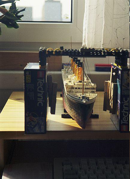 TITANIC in der Werft... (Revell 1:400) 20010612