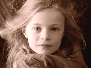 Louanne portrait acrylique P1040410