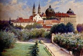 لوحات فنية قام بها هتلر 511