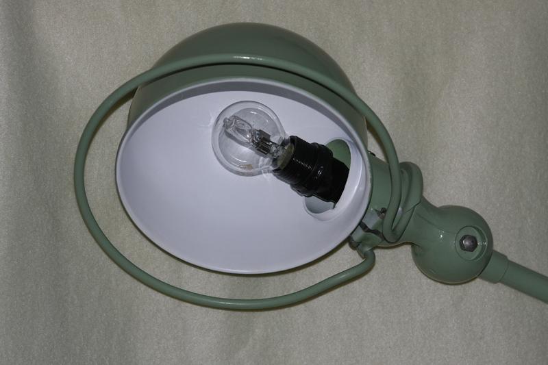 Restauration d'une lampe Jieldé 09_sep22