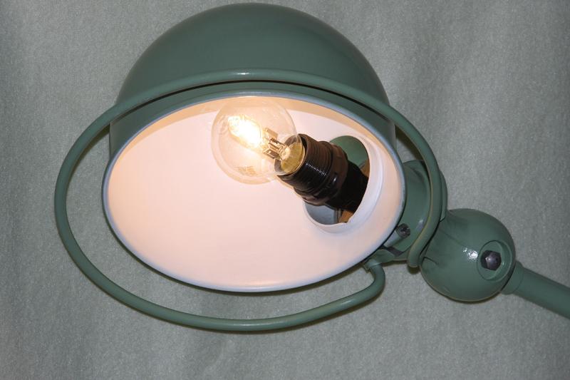Restauration d'une lampe Jieldé 09_sep23