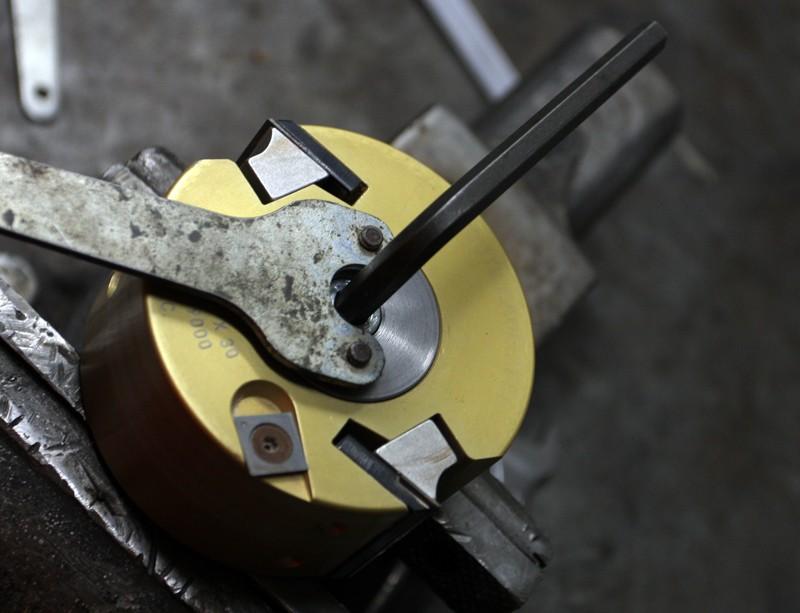 Manchon bout d'arbre pour toupie Hammer. 11_avr23