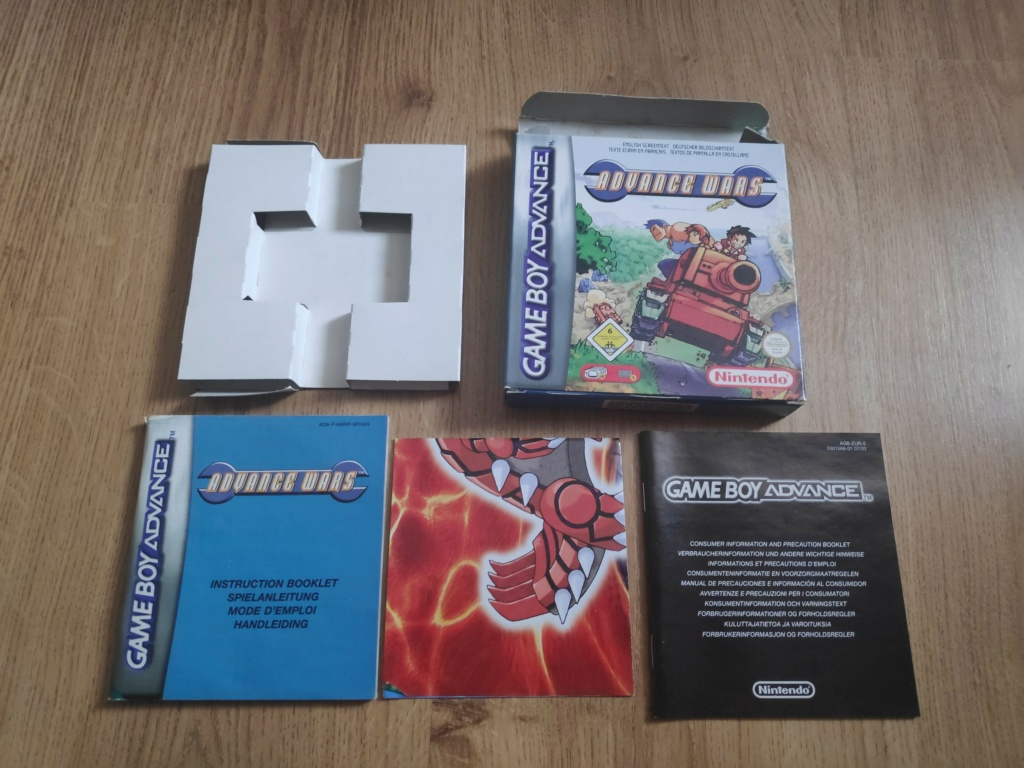 [ESTIMATION] Jeux GBA boite Advanc10