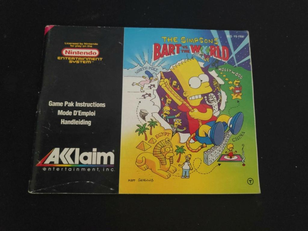 Echanges notices Nes vs Gamecube Bart10