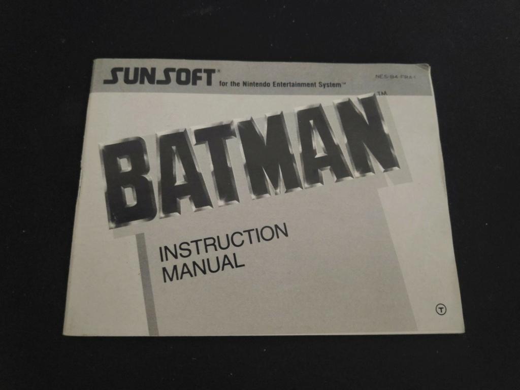 Echanges notices Nes vs Gamecube Batman10