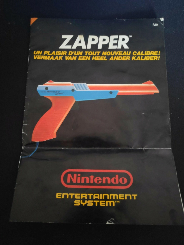 Echanges notices Nes vs Gamecube Zapper10