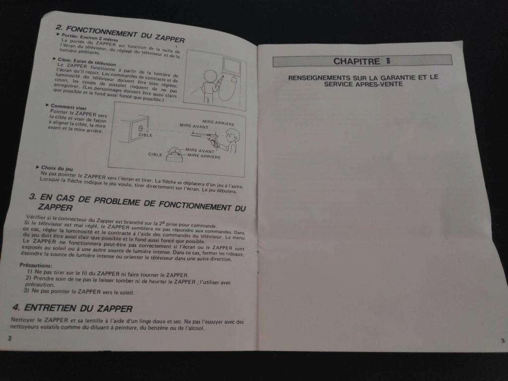 Echanges notices Nes vs Gamecube Zapper11