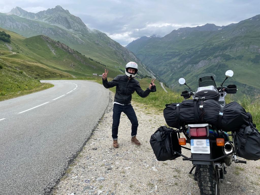 XTZ 750 de 1989 d'Umul : Route des Grandes Alpes Img_9015