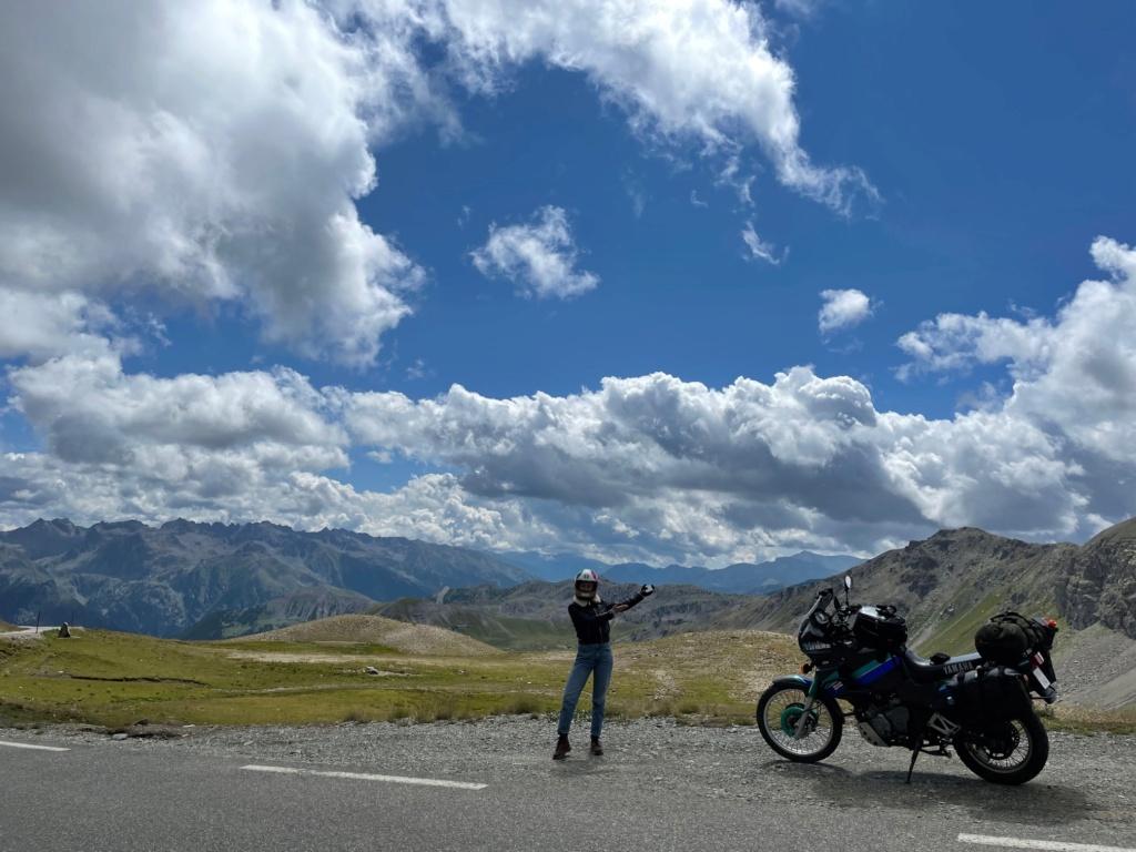 XTZ 750 de 1989 d'Umul : Route des Grandes Alpes Img_9231