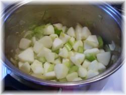 Crème aux pommes et au céleri 110