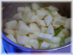 Crème aux pommes et au céleri 210