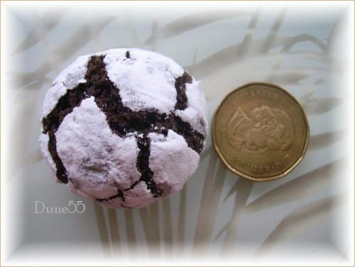 Biscuits craquelés au chocolat 30193910