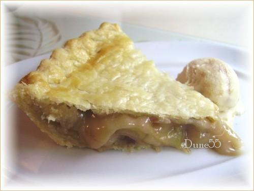 Tarte aux pommes, pacanes et érable Pict9217