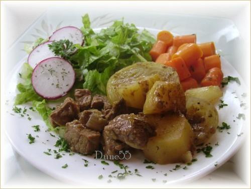 Ragoût de boeuf aux patates  Pict9713