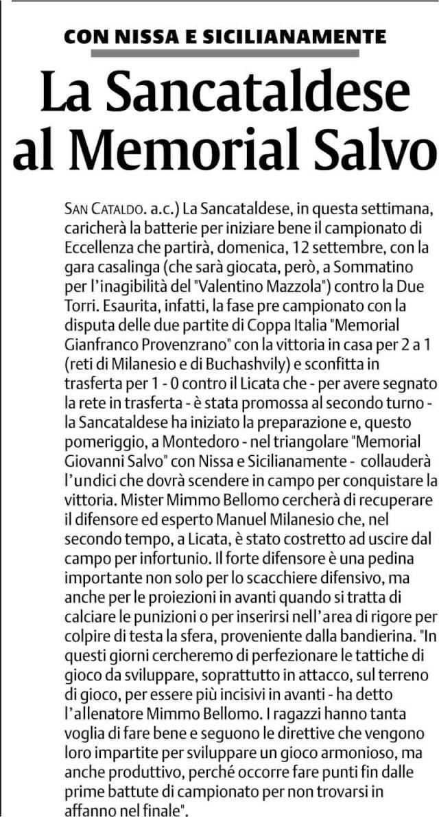 Triangolare Sancataldese - Nissa - Montedoro - Pagina 2 110