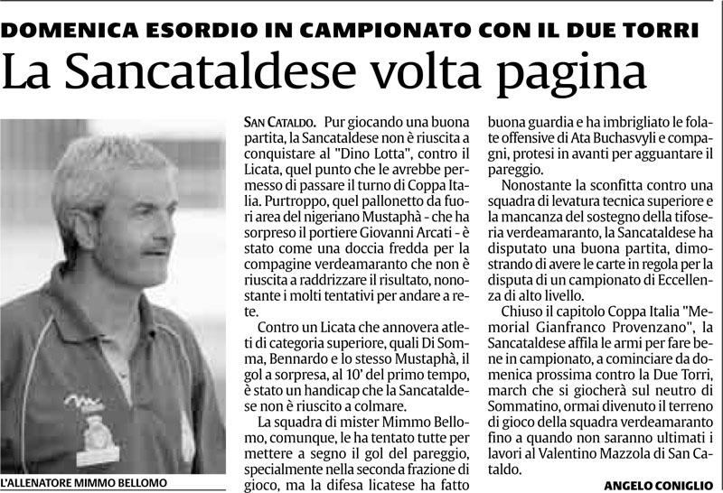 Campionato 1° giornata: Sancataldese - Due Torri 0-1 Cnsc15