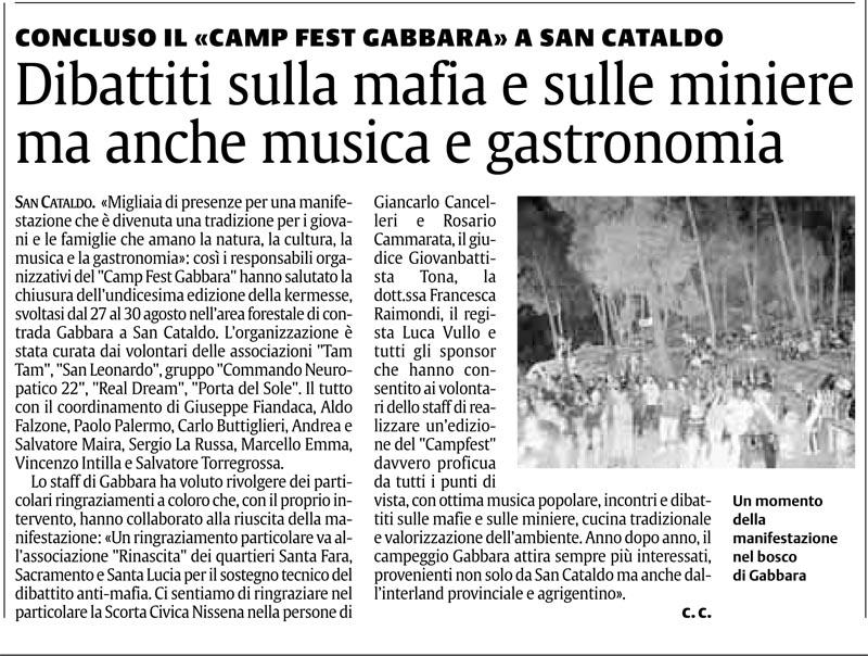 Campeggio Gabbara 2010 Gabbar10