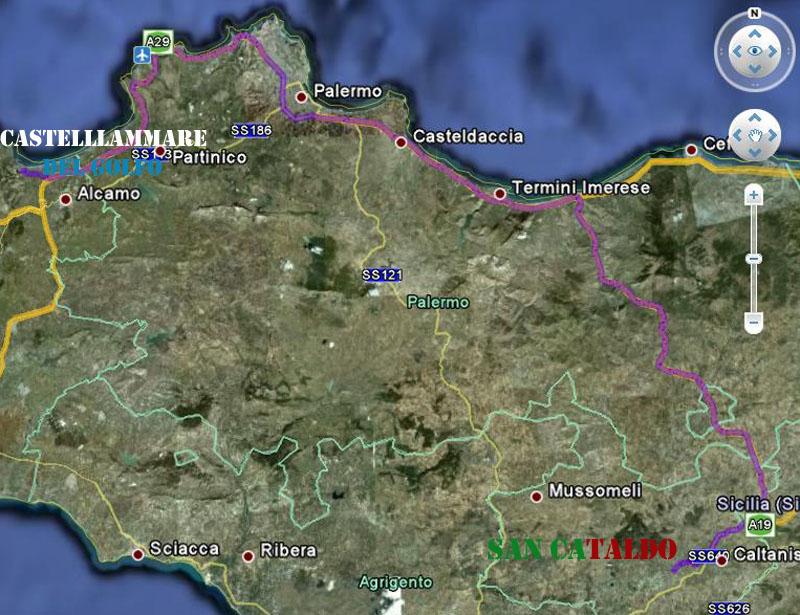 Campionato 7° Giornata: Castellammare - Sancataldese 0-0 Itiner10