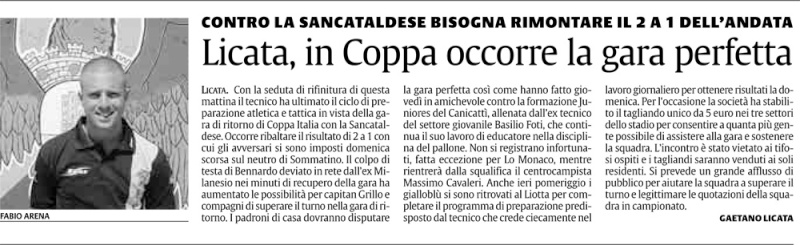 1° turno Coppa Italia ritorno: Licata - Sancataldese 1-0 Merda_10