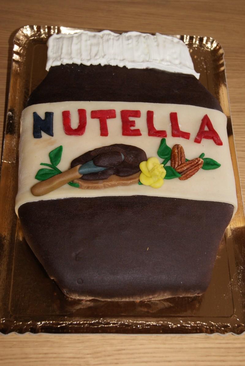 pot de Nutella Gateau10