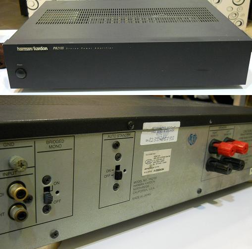 Harman Kardon Pa2100 Power Amplifier Used Sold