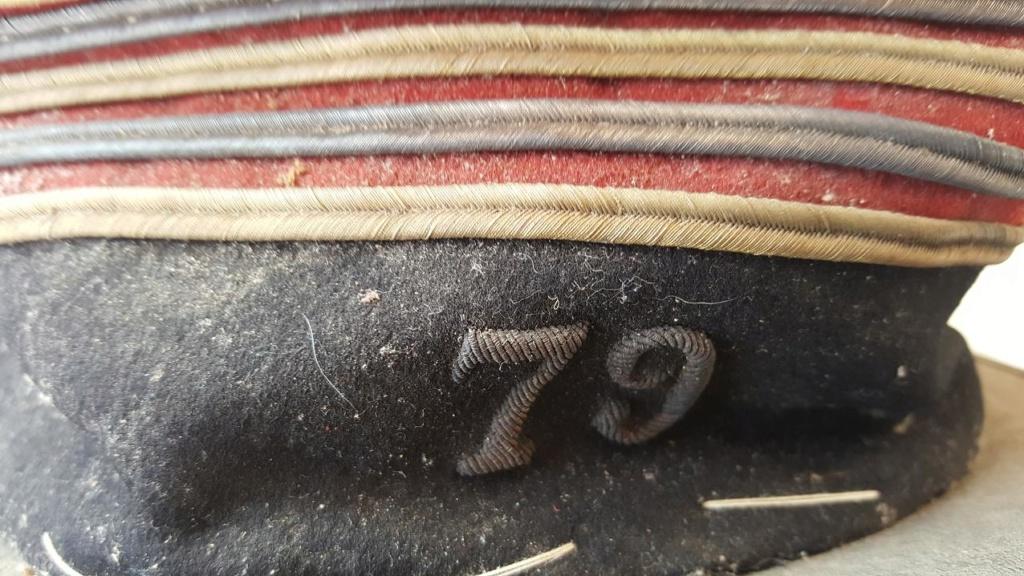 képi foulard Lieutenant Colonel 79 RI Nancy 20180826