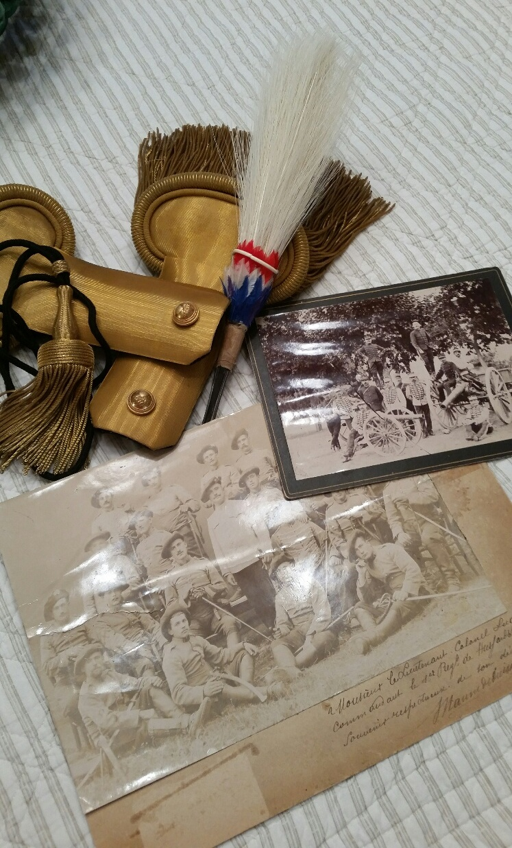 Souvenir du Lt Colonel LUGAN - 1 rgt Hussard 1902 20190716