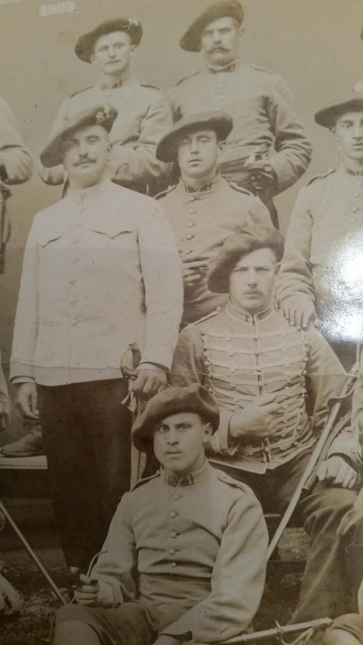 Souvenir du Lt Colonel LUGAN - 1 rgt Hussard 1902 20190718