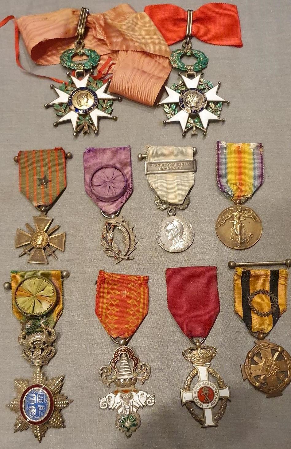Les décorations du Médecin général RAYNAL (1897 -1954) Medeci15