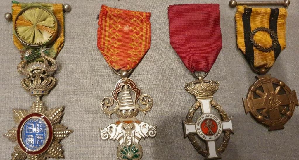Les décorations du Médecin général RAYNAL (1897 -1954) Medeci19