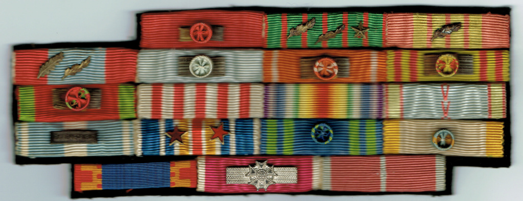 Placard de rappels  cdt Georges-Albert Aymé  Chef de Bataillon 1 régiment Tonkin Placar11
