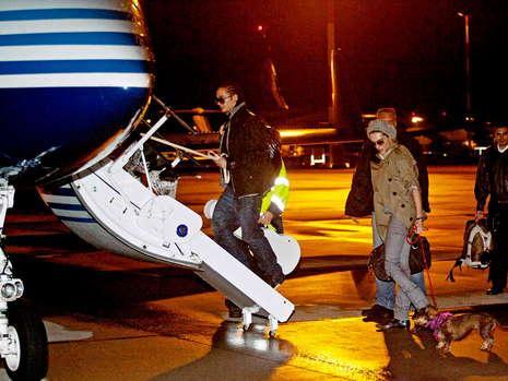 [news] Bill, Tom et leurs chien dans un jet pour LA Fliege10