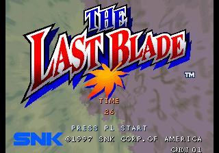 [NeoGeo] The Last Blade 110