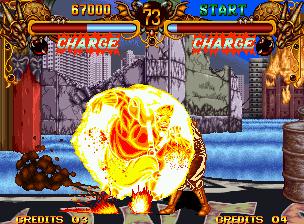 [NeoGeo] Double Dragon 2211