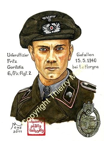"""Travaux en cours sur """" La Horgne 1940 """" Goritz10"""