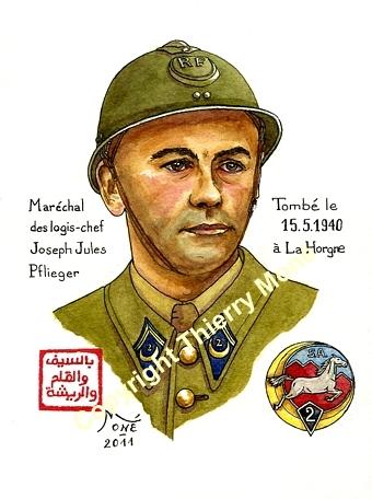 """Travaux en cours sur """" La Horgne 1940 """" Pflieg14"""
