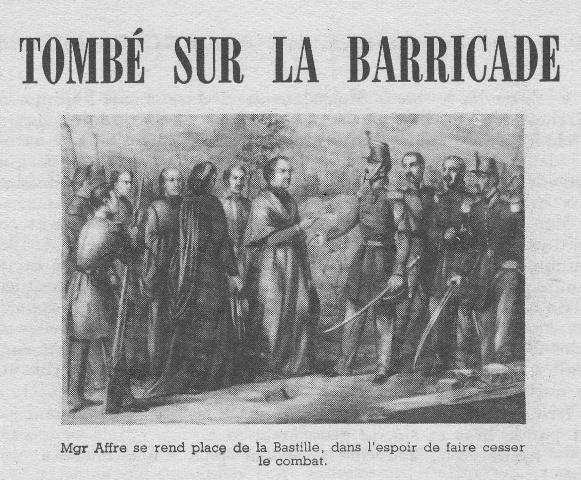 TOMBÉ SUR LA BARRICADE Bureau10