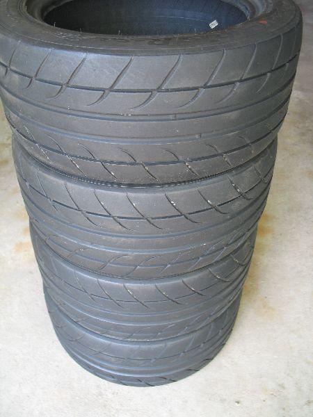 FS:  (6) 225/45ZR15 Hankook R-S3 tires Set_of11