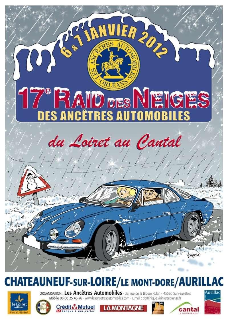 17é Raid des Neiges janvier 2012 Affich13