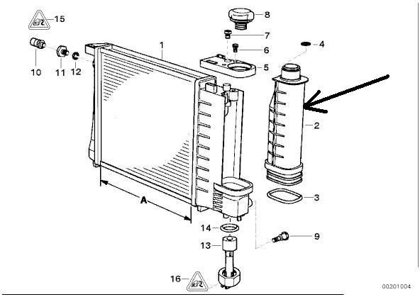 bmw e36 316 essence an 1994 purge circuit de refroidissement. Black Bedroom Furniture Sets. Home Design Ideas