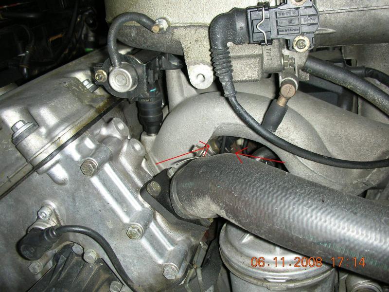 [ BMW E36 316i compact an 1995 ] Durite radiateur habitacle cassée de l'embout rouge - Page 2 Sonde_10