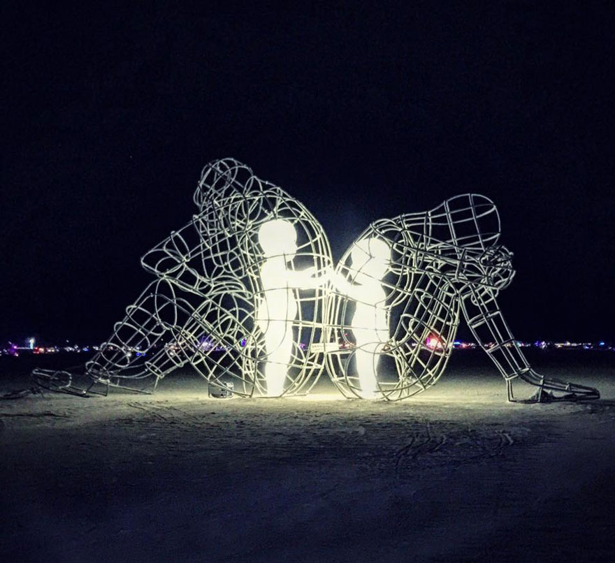 Burning Man Sculpt11