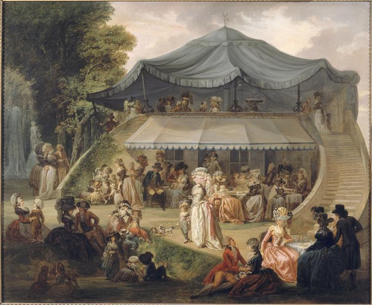 Le Colisée : établissement de plaisirs parisien au XVIIIème  Une_fe10