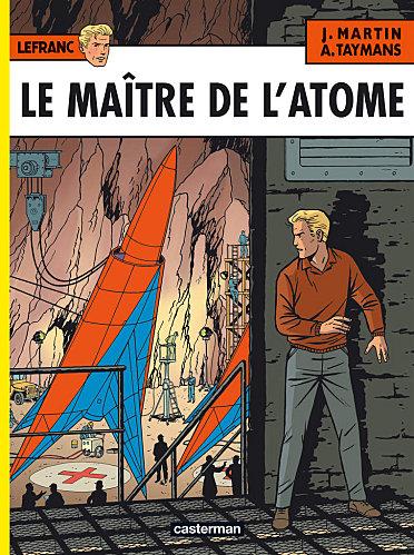 Le maître de l'atome Cover-10