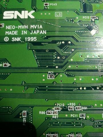 Pas d'image sur le slot MVS 10396910