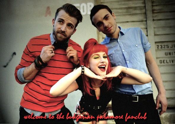 Paramore fanclub BG
