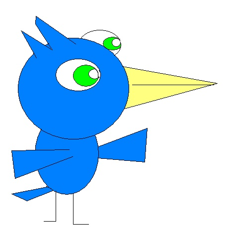 Z-mans AMAZING pictures made on paint Bird_b10