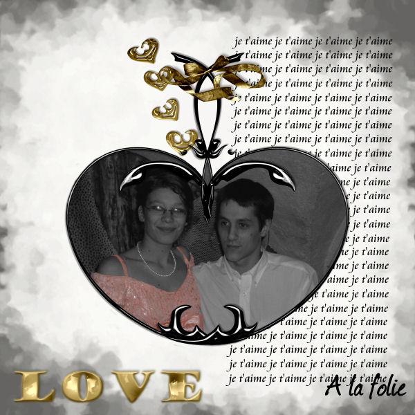 """kit """" C'est de l'or"""" Love_a10"""